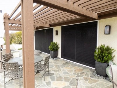 Exterior Door Motorized Power Screens
