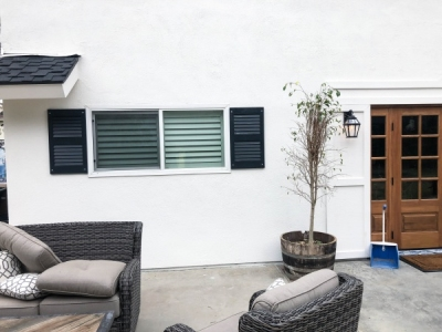 Exterior Shutters in Tustin