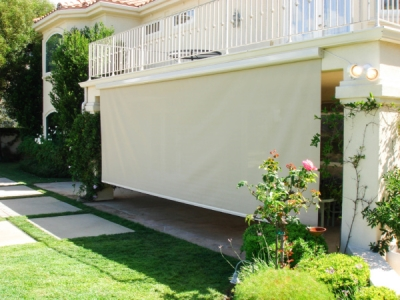 Patio Motorized Power Screens in Indio