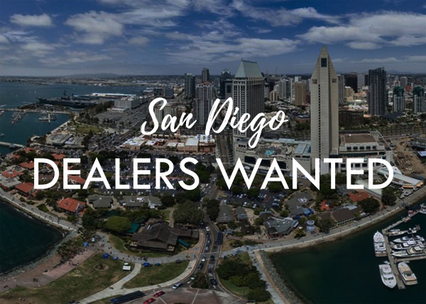 San Diego Dealers Wanted